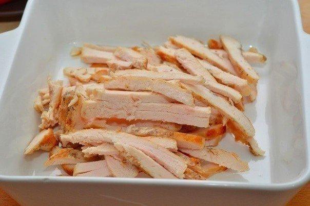 Салат из курицы 1