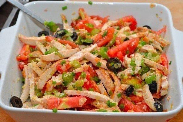 Салат из курицы 4