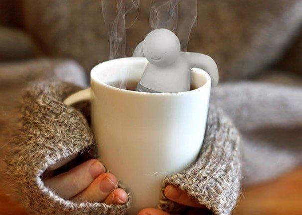 Гаджет - чайный человечек