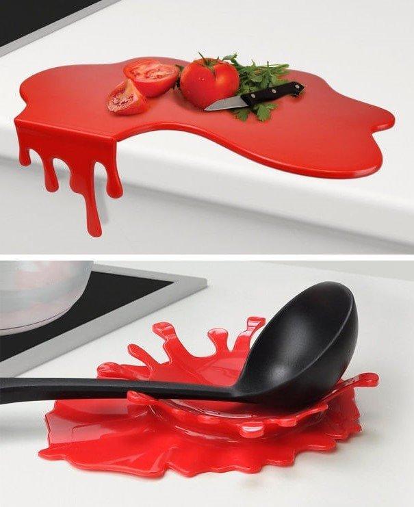 Гаджеты для кухни - кровавая кухонная доска