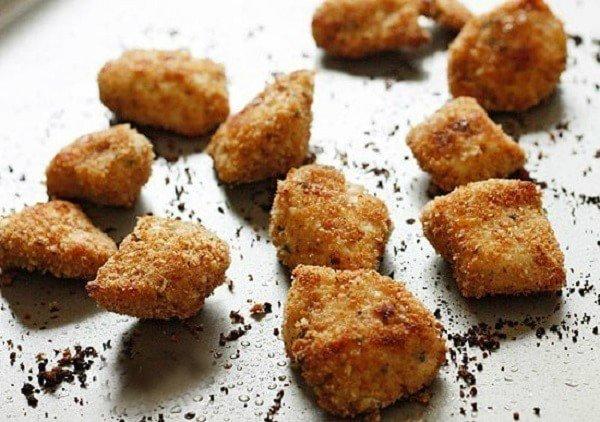 Куриные наггетсы из духовки