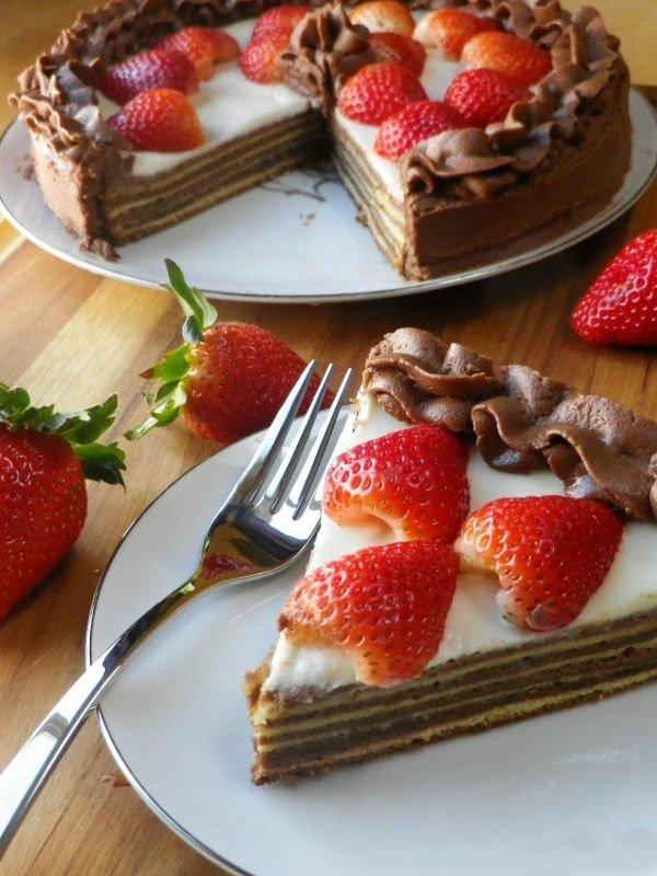 """Шоколадный пирог """"Баумкухен"""""""