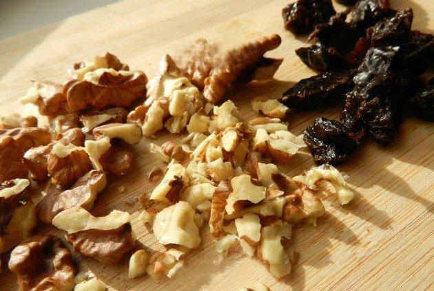 Торт Каро - грецкий орех и чернослив