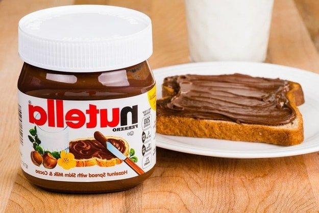 10 продуктов из-за которых мы набираем вес - нутелла