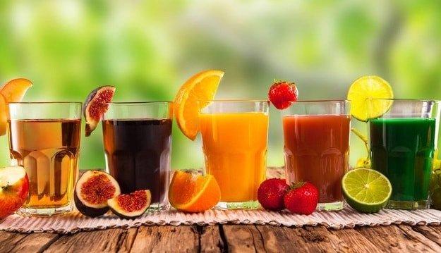 10 продуктов из-за которых мы набираем вес - сок