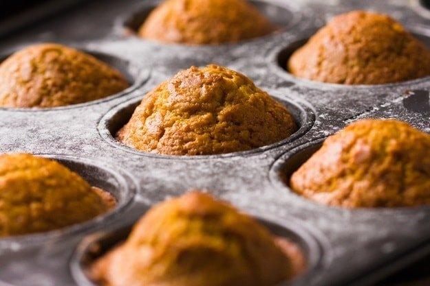 Домашние кексы из творога