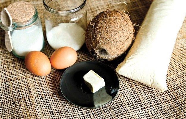 Кексы с кокосовой стружкой - ингредиенты