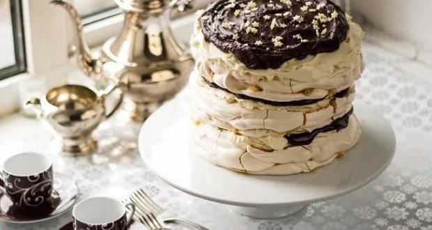 Меренговый торт с маскарпоне