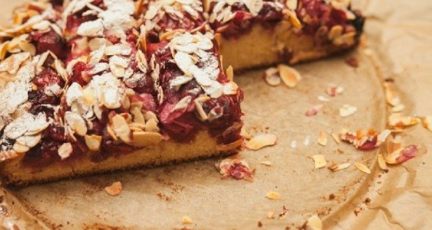 Венский вишневый пирог